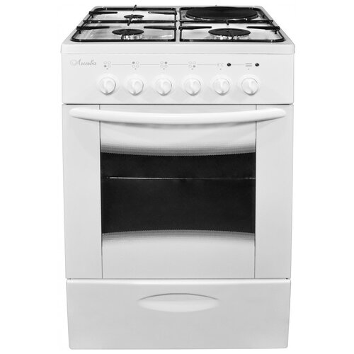 Комбинированная плита Лысьва ЭГ 1/3Г01 МС-2У белый
