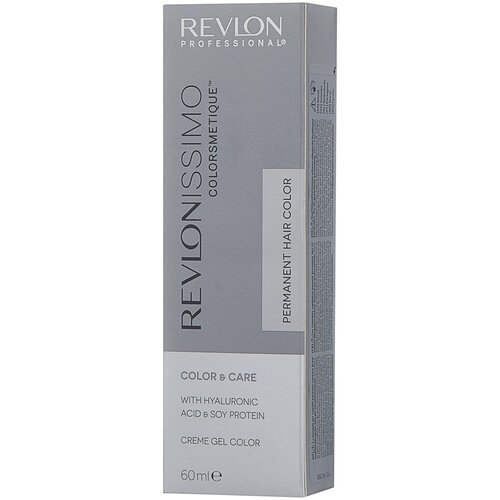 Купить Revlon Professional Revlonissimo Colorsmetique стойкая краска для волос, 6.12 темный блондин пепельно-переливающийся, 60 мл