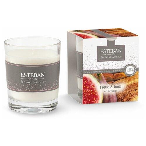 Ароматическая свеча Esteban инжир и дерево