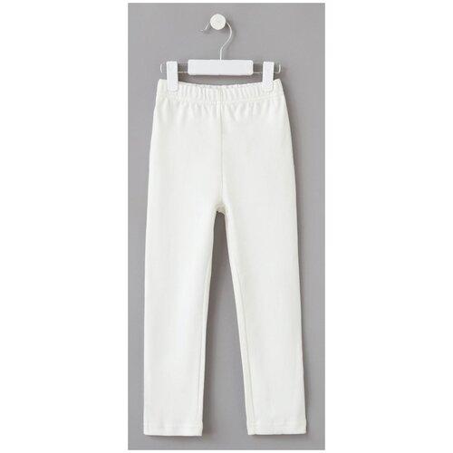 Купить Брюки Minaku размер 116, экрю, Домашняя одежда