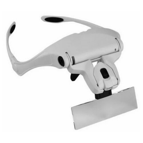Фото - Лупа-очки Kromatech налобная бинокулярная 3,5x, с подсветкой (2 LED) MG9892B1 лупа kromatech налобная 1 2 1 8 2 5 3 5x с подсветкой 1 led mg81001 f
