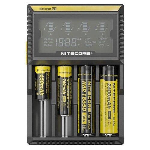 Фото - Зарядное устройство Nitecore D4 11480 зарядное устройство nitecore lc10