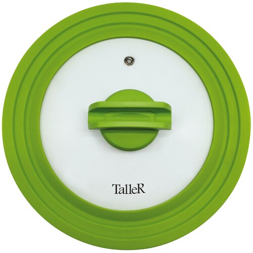 Фото - Крышка Taller TR-8006, 24 см прозрачный/зеленый крышка taller 20 см tr 38001
