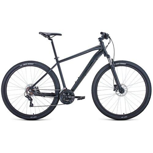 Велосипед Forward Apache 3.0 Disc 29 (2020) 21 черный матовый/черный (требует финальной сборки)
