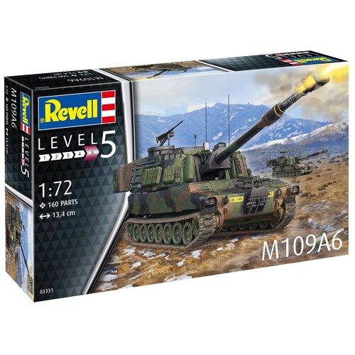 Сборная модель Американская самоходная артиллерийская установка M109A6