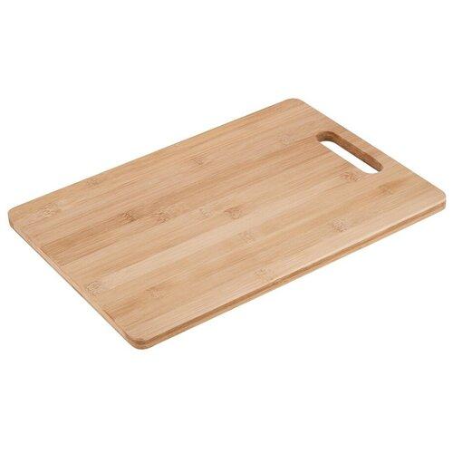 Доска разделочная бамбук/ Доска сервировочная/ Доска для подачи/ 36х26х1,2см