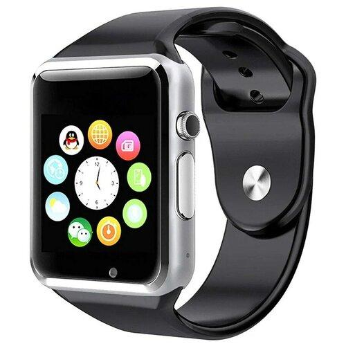 Смарт-часы Smart Watch A1 серебристые