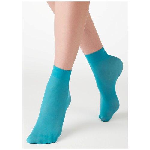 Капроновые носки MiNiMi Micro Colors 50 3D, размер 0 (one size), aqua
