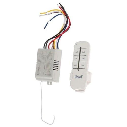 Пульт управления светом Uniel UCH-P005-G4-1000W-30M, 4 канала х 1000 Вт, радиус действия 30м 4125106