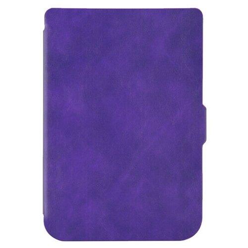 Чехол-обложка SkinBox Slim Case для Pocketbook 616/627/632 (фиолетовый)