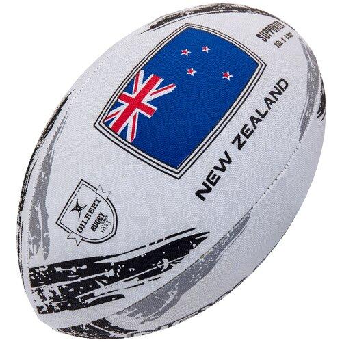 Мяч для регби GILBERT SUPPORTER NEW ZEALAND размер 5