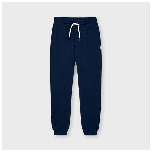 Подростковые спортивные брюки Mayoral синие 14 л.
