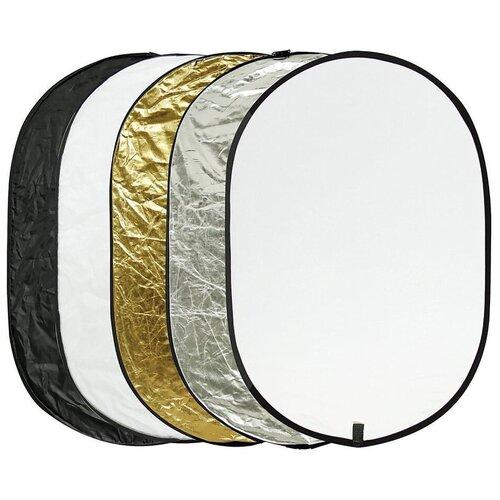 Фото - Отражатель Godox RFT-05, 80х120 см, 5 в 1 светоотражатель godox овальный 5 в 1 100x150 см