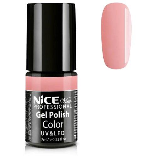 Купить Гель-лак для ногтей Nice View UV&LED, 7 мл, C-07 бледно-коралловый