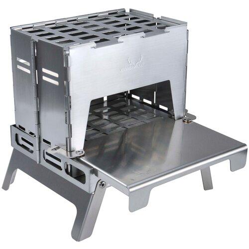 Печка WINNERWELL Titanium серый