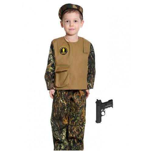Купить Костюм 'Спецназ Форест с пистолетом', размер 134-140 см., КарнавалOFF, Карнавальные костюмы