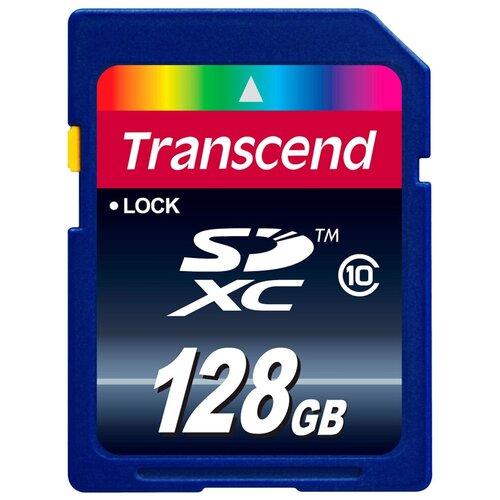 Фото - Карта памяти Transcend TS*SDXC10 128 GB, запись: 16 MB/s карта памяти transcend ts sdxc10 128 gb запись 16 mb s
