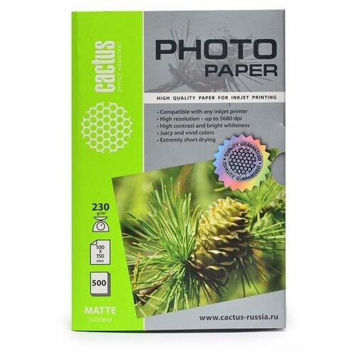 Фото - Бумага cactus A6 CS-MA6230500 230 г/м² 500 лист., белый бумага lomond a6 0102082 230 г м2 500 лист