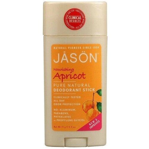 JASON дезодорант, стик, Абрикос, 71 г