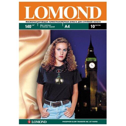 Фото - Бумага Lomond A4 0808431 140 г/м² 10 лист., белый бумага lomond a4 0807435 140г м2 50 лист
