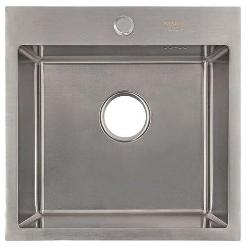 Врезная кухонная мойка 50 см Premial PR 5050 сатин 0 pr на 100