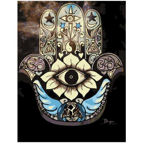 Купить Картина по номерам Символ, 70 х 100 см, Красиво Красим, Картины по номерам и контурам