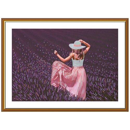 Купить Набор для вышивания Нова Слобода Лавандовое настроение , 39, 9*25, 8 см, NOVA SLOBODA, Наборы для вышивания