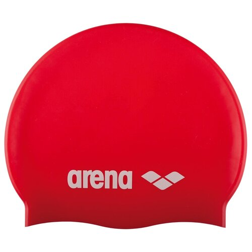 Шапочка для плавания arena Classic Silicone Jr 91670, red/white шапочка для плавания arena unix jr 91279 red