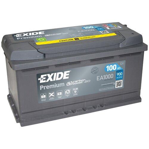 Автомобильный аккумулятор Exide Premium EА1000