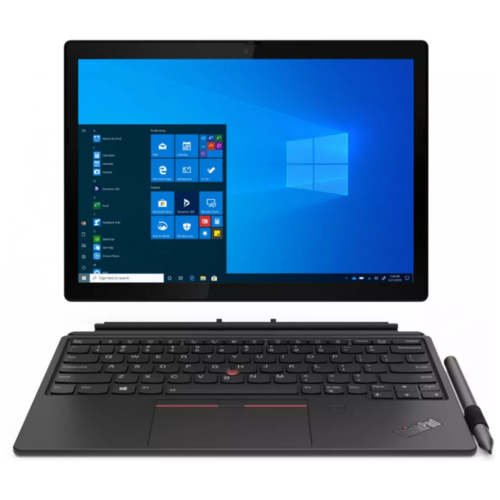 "Ноутбук Lenovo ThinkPad X12 Detachable (Intel Core i5-1130G7 1800MHz/12.3""/1920x1280/8GB/256GB SSD/Intel Iris Xe Graphics/Windows 10 Pro) 20UW000MRT черный"