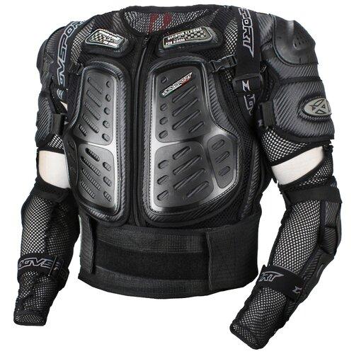 Защита спины, защита локтей, защита поясницы AGVSPORT A16807 черный S
