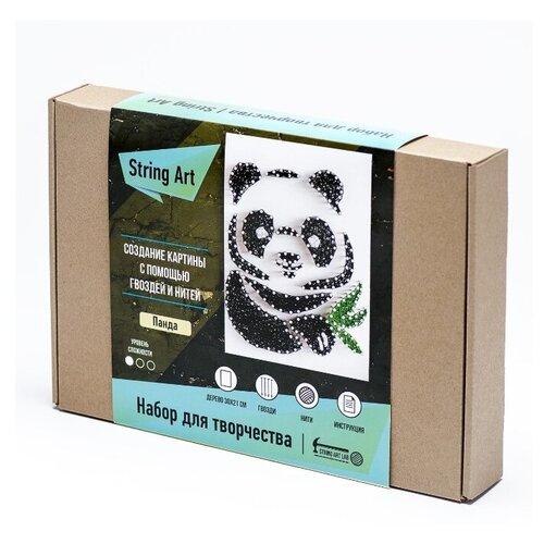 Купить String Art Lab Набор для творчества Панда (A4016), Поделки и аппликации