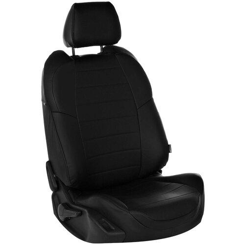 Комплект чехлов АВТОПИЛОТ из экокожи для Ford C-Max Grand черный