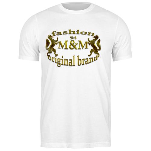 футболка классическая реальная жуть 2168746 цвет белый пол муж качество эконом размер m Футболка классическая M&M fashion #2032638 (цвет: БЕЛЫЙ, пол: МУЖ, качество: ЭКОНОМ, размер: M)