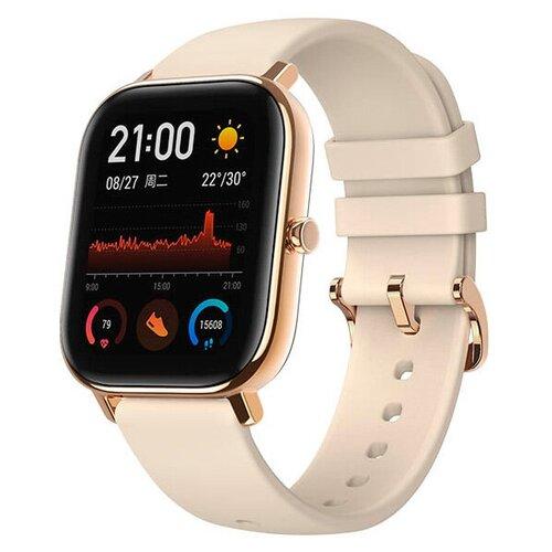 Умные часы Amazfit GTS, бежевый/золотистый умные часы amazfit gts smart watch eu черный