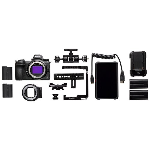 Фото - Фотоаппарат Nikon Z6 II Essential Movie Kit фотоаппарат nikon z5 kit 24 50 f 4 6 3 c адаптером ftz
