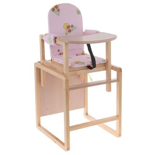 Купить Стульчик-трансформер для кормления Вилт Бутуз , цвет розовый, ВИЛТ, Стульчики для кормления