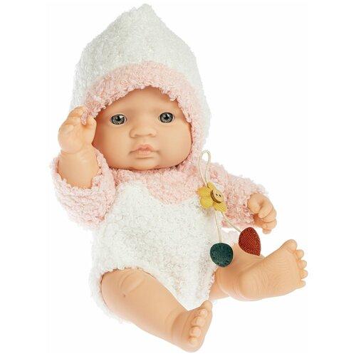 Фото - Кукла МАЛЫШ розовый костюм Oly Bondibon мягкие игрушки bondibon кукла oly ника 26 см