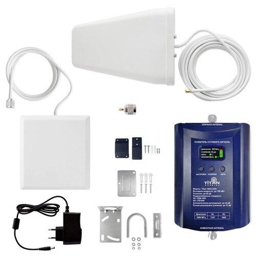 Комплект Усиления сотового сигнала (Репитер) LTE GSM 1800 Мгц Titan 1800 (LED)