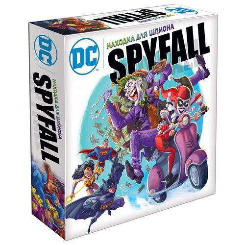 Фото - Настольная игра HOBBY WORLD Находка для шпиона: DC настольная игра hobby world находка для шпиона 2 spyfall 2