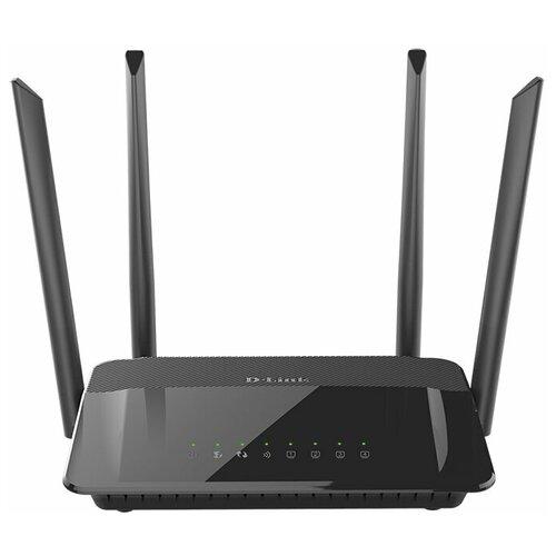 Wi-Fi роутер D-link DIR-822/С1 черный