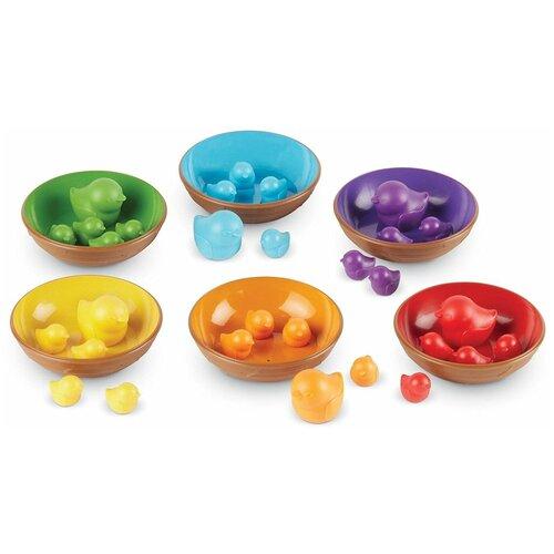 Сортер Learning Resources Цветные гнёздышки