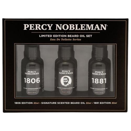 Набор масел для бороды Percy Nobleman недорого