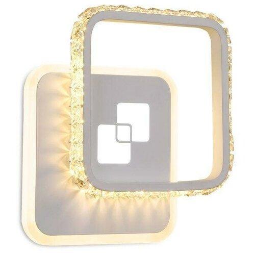 Фото - Настенный светильник Ambrella light FA231 WH, 21 Вт настенный светильник ambrella light fa565 wh s белый песок 13 вт