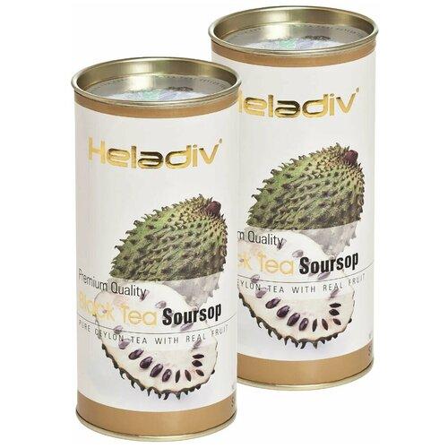чай черный heladiv pekoe black tea soursop 100 г 2 уп Чай черный Heladiv Premium Quality Black Tea Soursop, 100 г, 2 уп.