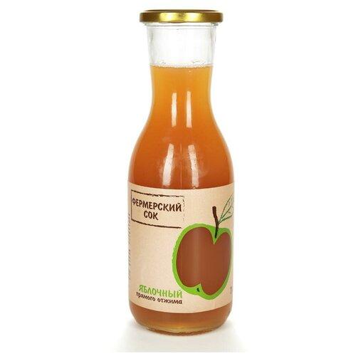 сок medicura годжи без сахара 0 33 л Сок Фермерский сок яблочный прямого отжима, без сахара, 1 л