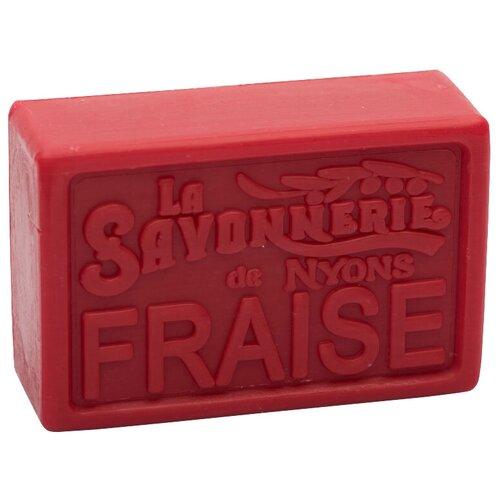Мыло кусковое La Savonnerie de Nyons Fraise, 100 г fraise
