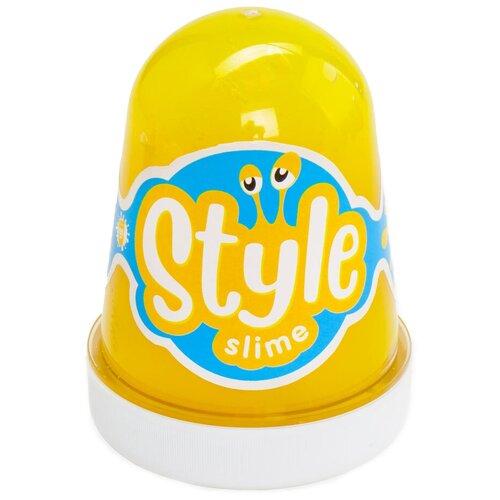 Лизун LORI Style Slime с ароматом банана желтый