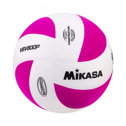 Волейбольный мяч Mikasa VSV800 бело-розовый