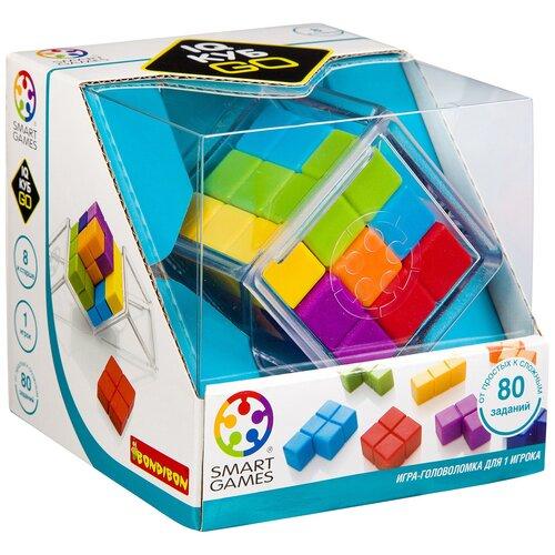 Головоломка BONDIBON Smart Games IQ-Куб GO (BB3331) головоломка bondibon smart games iq конфетки вв1353